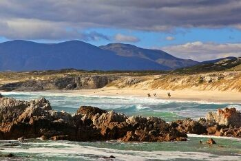 De Kelders coastline, Whale Coast, Western Cape